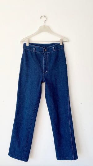Vintage Dark Wash Stretch Jeans size 28