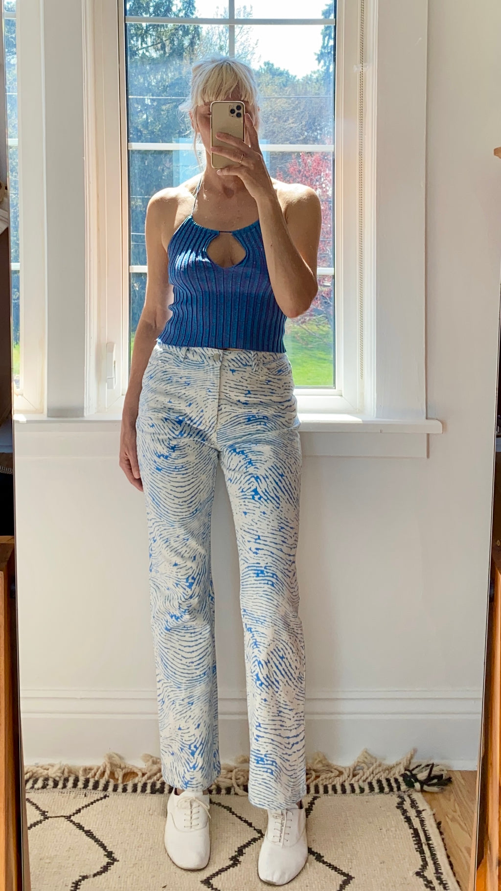 PALOMA WOOL Huella Pant Soft Blue