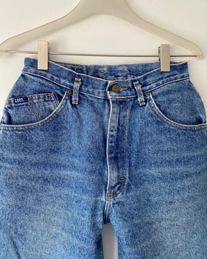 Vintage LEEs Made in USA Medium Wash Jeans size 28/29