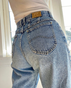 Vintage LEEs Made in USA Light Wash Jeans size 29
