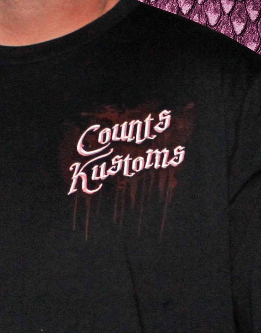 Men's Long-Sleeve Count's Kustoms Tee