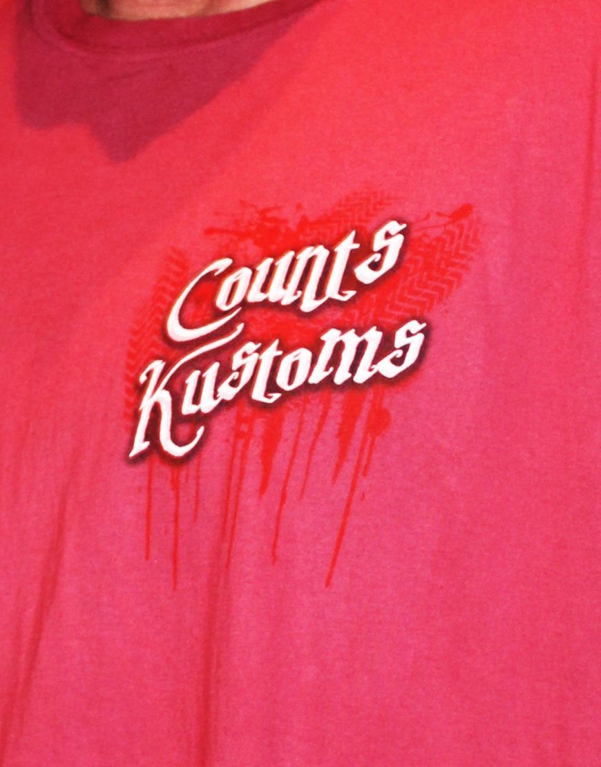 Men's Short-Sleeve Count's Kustoms Tee