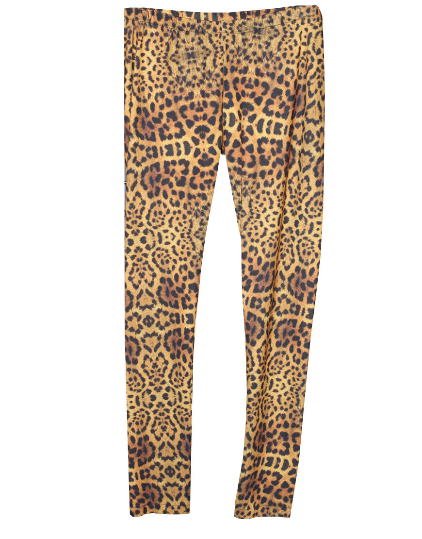 Leopard Stretch Pants