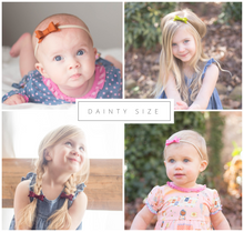 Tangelo Sadie Bow on Headband or Clip