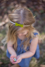 Willow Green Sadie Bow on Headband or Clip