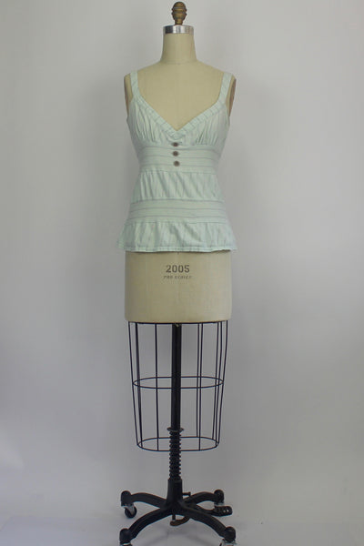 Urban Outfitters Lux Pastel Babydoll Tank Size Medium