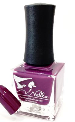 Nella nail polish, Color- Purple Rain, Nail polish, nontoxic, Nellabeauty.com, Nellabeauty.com