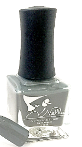 Nella nail polish, Color- Fifty Shades of Grey, Nellla nail polish, Nella nails, Nella, Grey nail polish, Nellabeauty.com, Nellabeauty.com