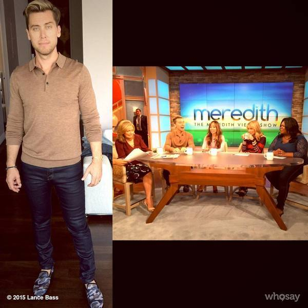 lance bass in dara shoes camo velvet slipper