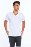Men's Modal V-Neck T-Shirt • MS-203V