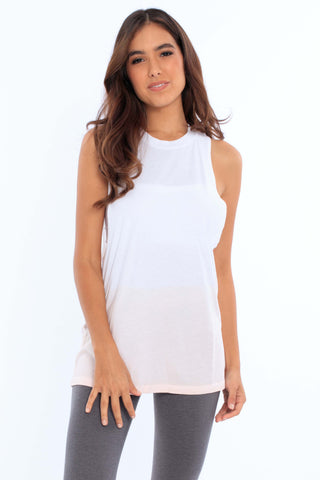 Women's Dip Dye Muscle Tank Top • MS-213