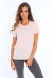 Women's Crew Neck T-Shirt • MS-216