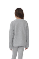 Girls Crewneck Sweatshirt | MS-745K