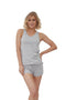 Twisted Yarn Ruche Tank | MS-749