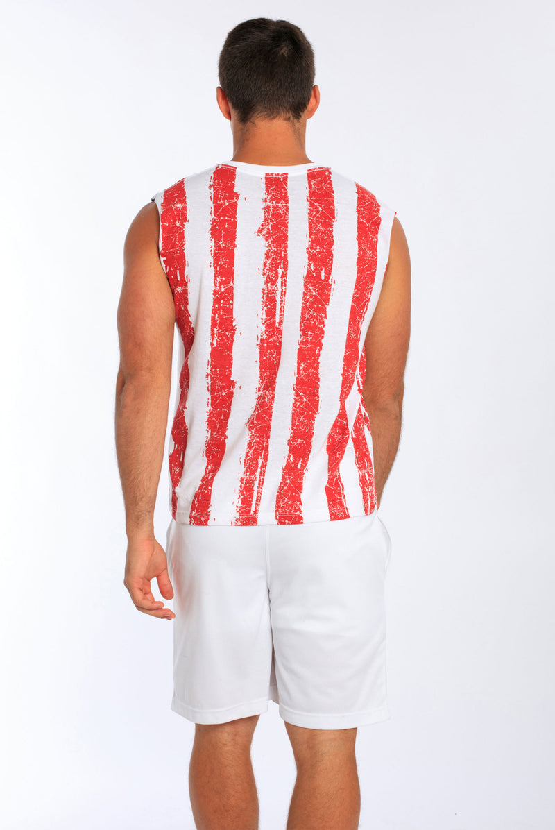 USA Flag Muscle Tank | MS-151DFL
