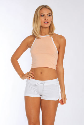 Halter Neck Crop Top • MS-454