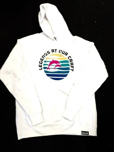 Pink Dolphin Authentic Basic Fleece Sweater Waves  Size 2XL Crew Neck B9/6