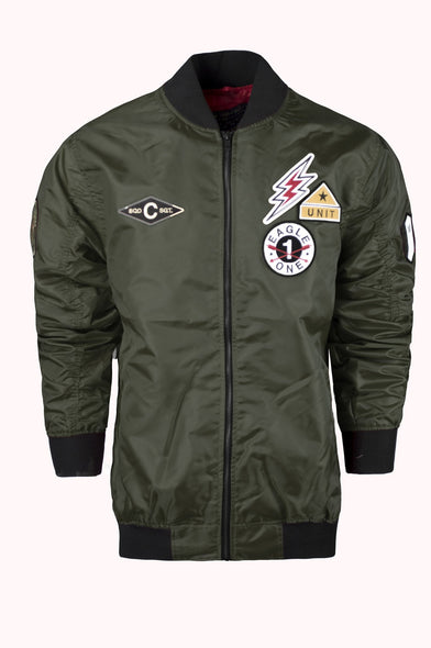 Souvenir Bomber Jackets patches Ma-1 Bomber tiger