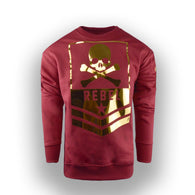 FASHION Crew neck Fleece rebel Design