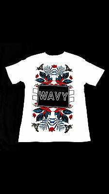 Wavy Clothing Mens Authentic Quality Fashion Cotton Tee Shirts SZ(L)STYLE 7
