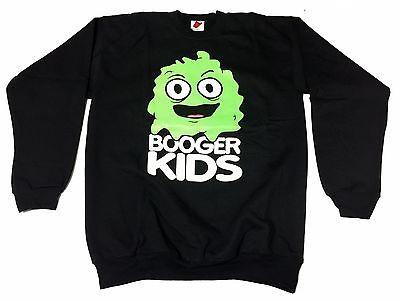 Booger kids Clothing Mens Authentic Quality Fashion CREWNECK SZ(M) STYLE 12