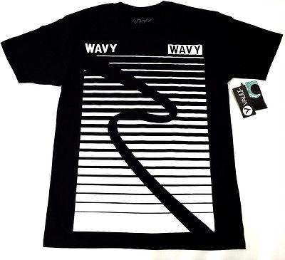 Wavy Clothing Mens Authentic Quality Fashion Cotton Tee Shirts SZ(L)STYLE 15