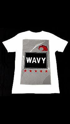 Wavy Clothing Mens Authentic Quality Fashion Cotton Tee Shirts SZ(L)STYLE 3