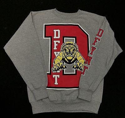 DFYNT Rose Thorn  DFYNT LION  Fashion Urban GRAY SWEATER  F4 FREE SHIPPING