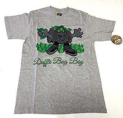 Duffle Bag Boy Gray T-Shirt