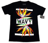 Wavy Clothing Mens Authentic Quality Fashion Cotton Tee Shirts SZ(XL)STYLE 3