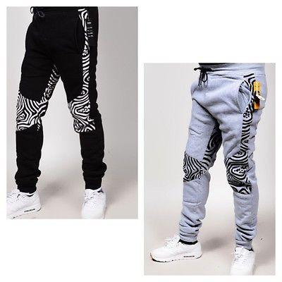 RS7 #14 Wavey Knees Print Fleece Jogger