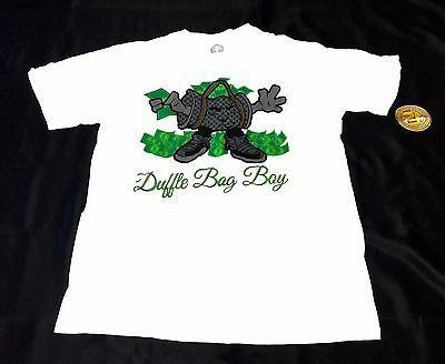 Duffle Bag Boy White T-Shirt – Apparel Loop c5f5df159c689