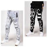 RS7 #58 Ceramic Print Fleece Jogger