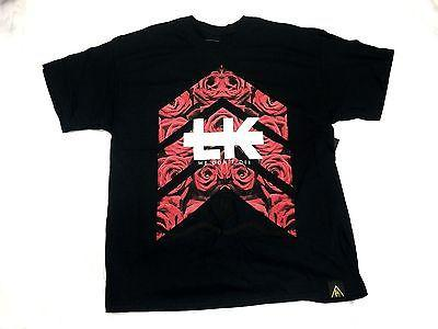 New Original Brand Last Kings ARROW ROSES   BLACK TEE FREE SHIPPING