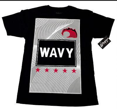 Wavy Clothing Mens Authentic Quality Fashion Cotton Tee Shirts SZ(XL)STYLE 18