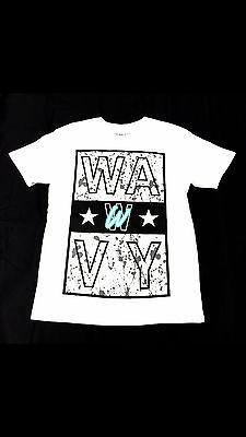 Wavy Clothing Mens Authentic Quality Fashion Cotton Tee Shirts SZ(2XL)STYLE 1