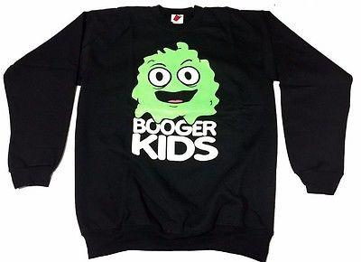 Booger kids Clothing Mens Authentic Quality Fashion CREWNECK SZ(2XL) STYLE 19