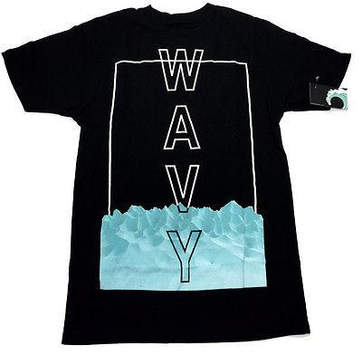 Wavy Clothing Mens Authentic Quality Fashion Cotton Tee Shirts SZ(L)STYLE 11