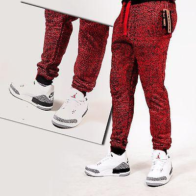 MENS JOGGERS Red CEMENT