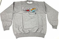 Booger kids Clothing Mens Authentic Quality Fashion CREWNECK SZ(M) STYLE 20