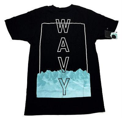 Wavy Clothing Mens Authentic Quality Fashion Cotton Tee Shirts SZ(XL)STYLE 5