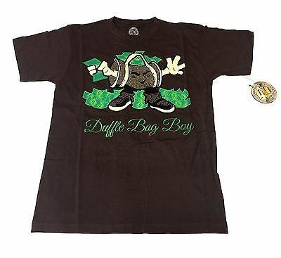 Duffle Bag Boy Brown T-Shirt