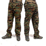 Combat Men's Cotton Military Green Camouflage Pants