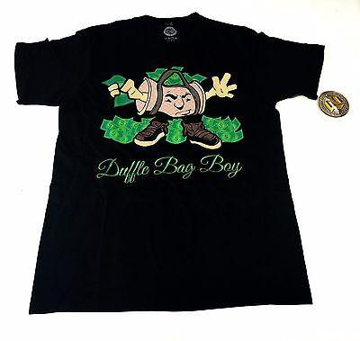 Duffle Bag Boy Black T-Shirt