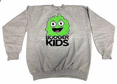 Booger kids Clothing Mens Authentic Quality Fashion CREWNECK SZ(XL) STYLE 66