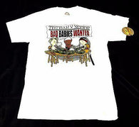 BAD BABIES WANTED White T-Shirt