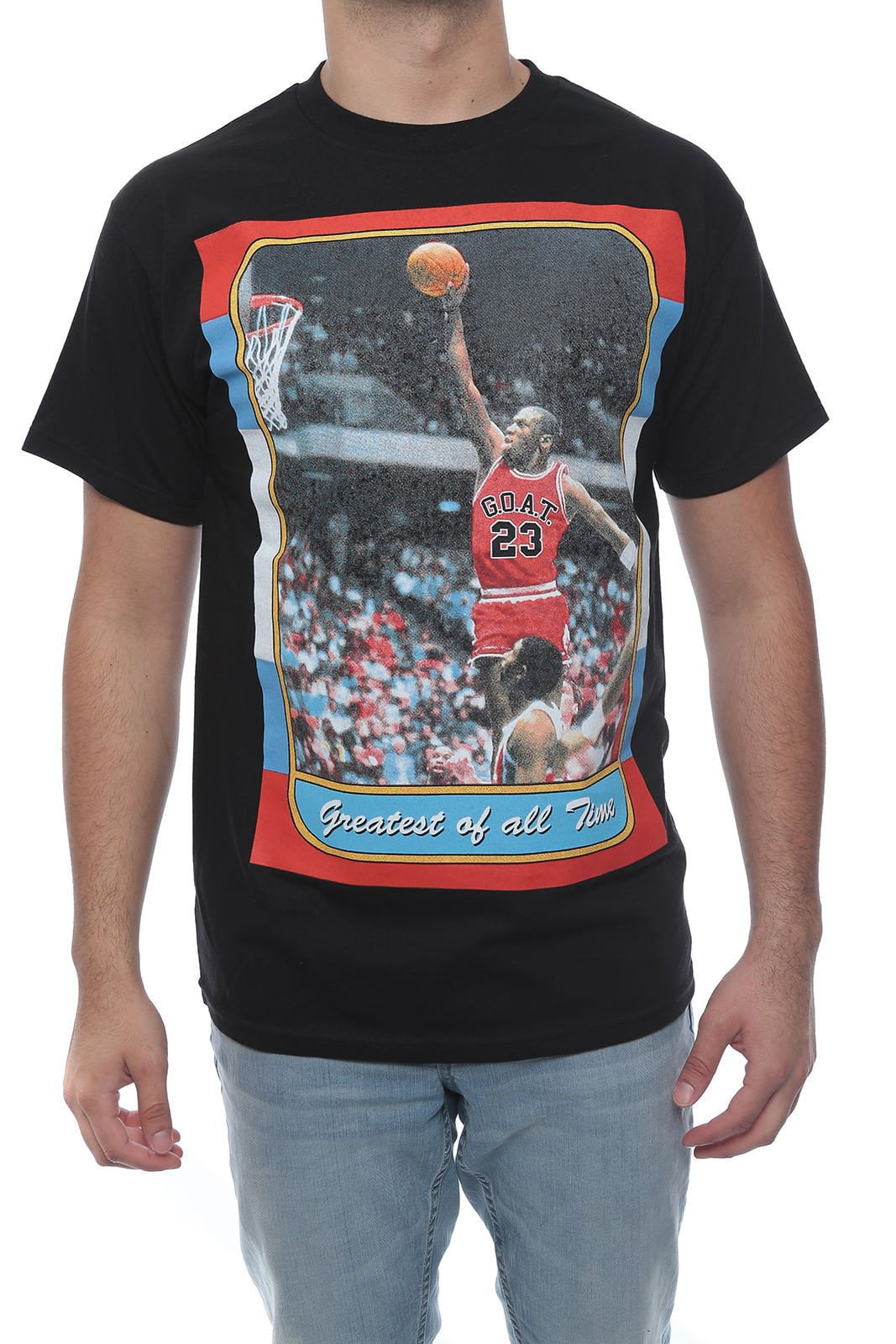 GREATES OF ALL TIME MJ TEE Cotton Authentic Classics Mens S-2XL JORDAN BLACK TEE