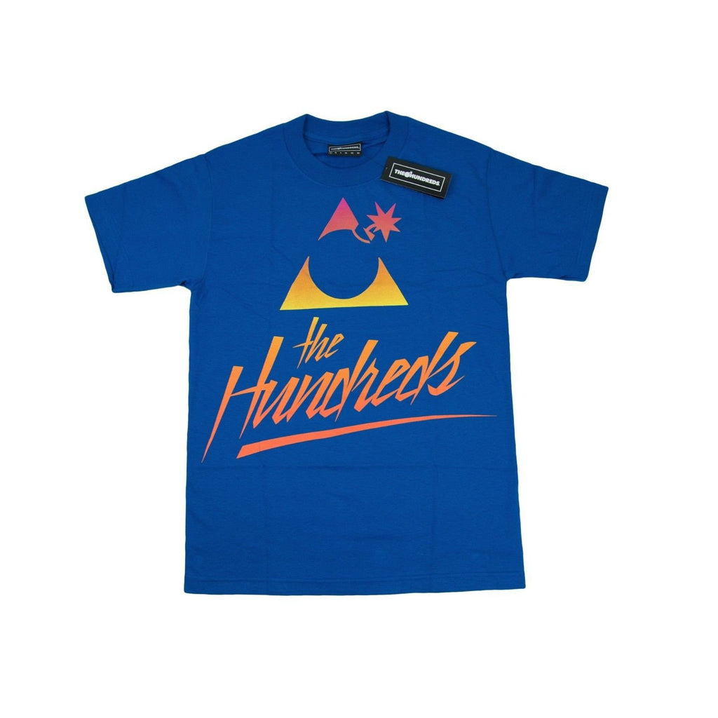 Original Classic The Hundreds Forever Bar Logo Mens Cotton Stretch T-Shirt SZ S