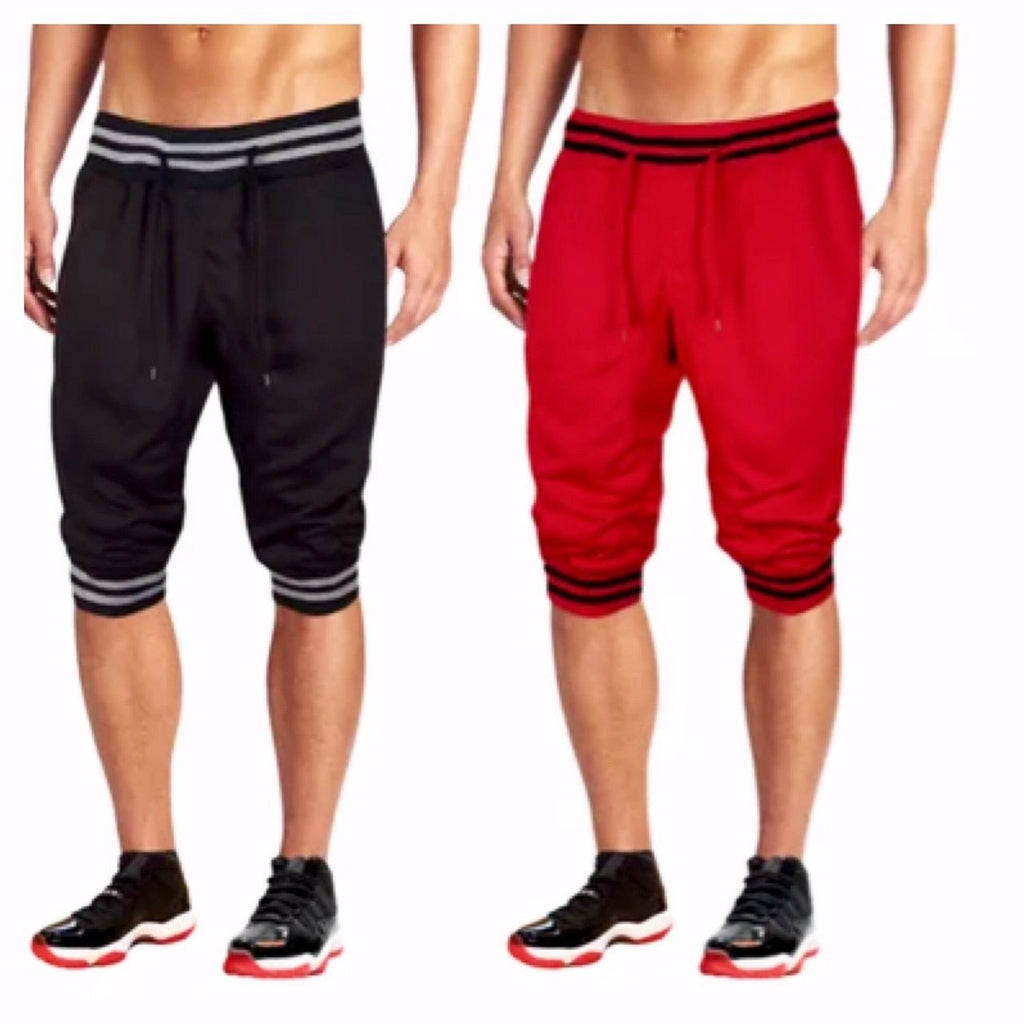 Mens Summer Jogger Shorts