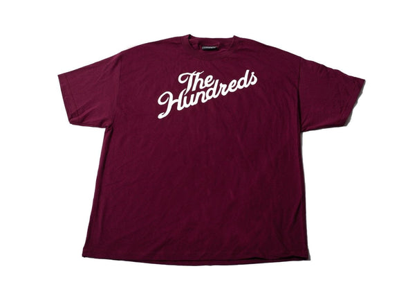 Original Classic The Hundreds Forever Bar Logo Mens Cotton Stretch T-Shirt size 2X